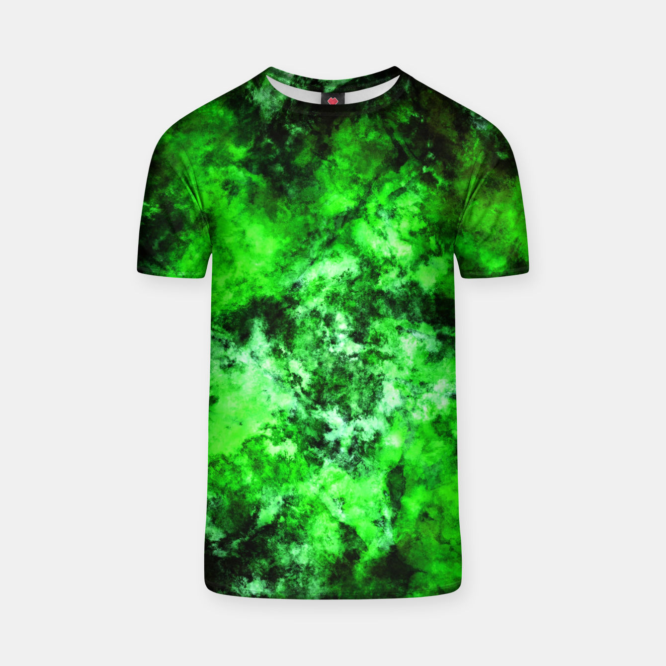 Image of Green burst T-shirt - Live Heroes