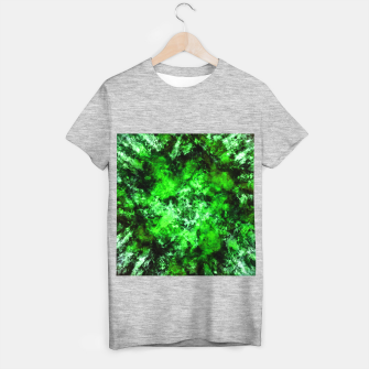 Thumbnail image of Green burst T-shirt regular, Live Heroes