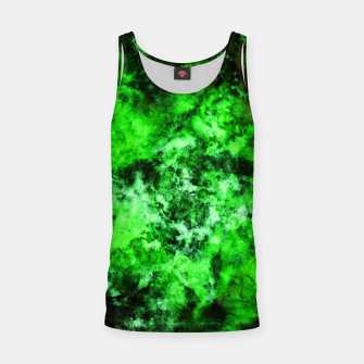 Thumbnail image of Green burst Tank Top, Live Heroes