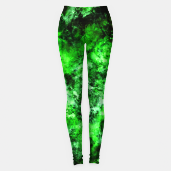 Thumbnail image of Green burst Leggings, Live Heroes