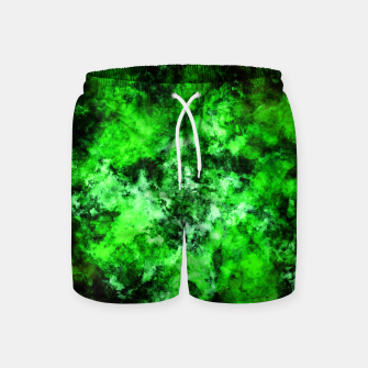 Thumbnail image of Green burst Swim Shorts, Live Heroes