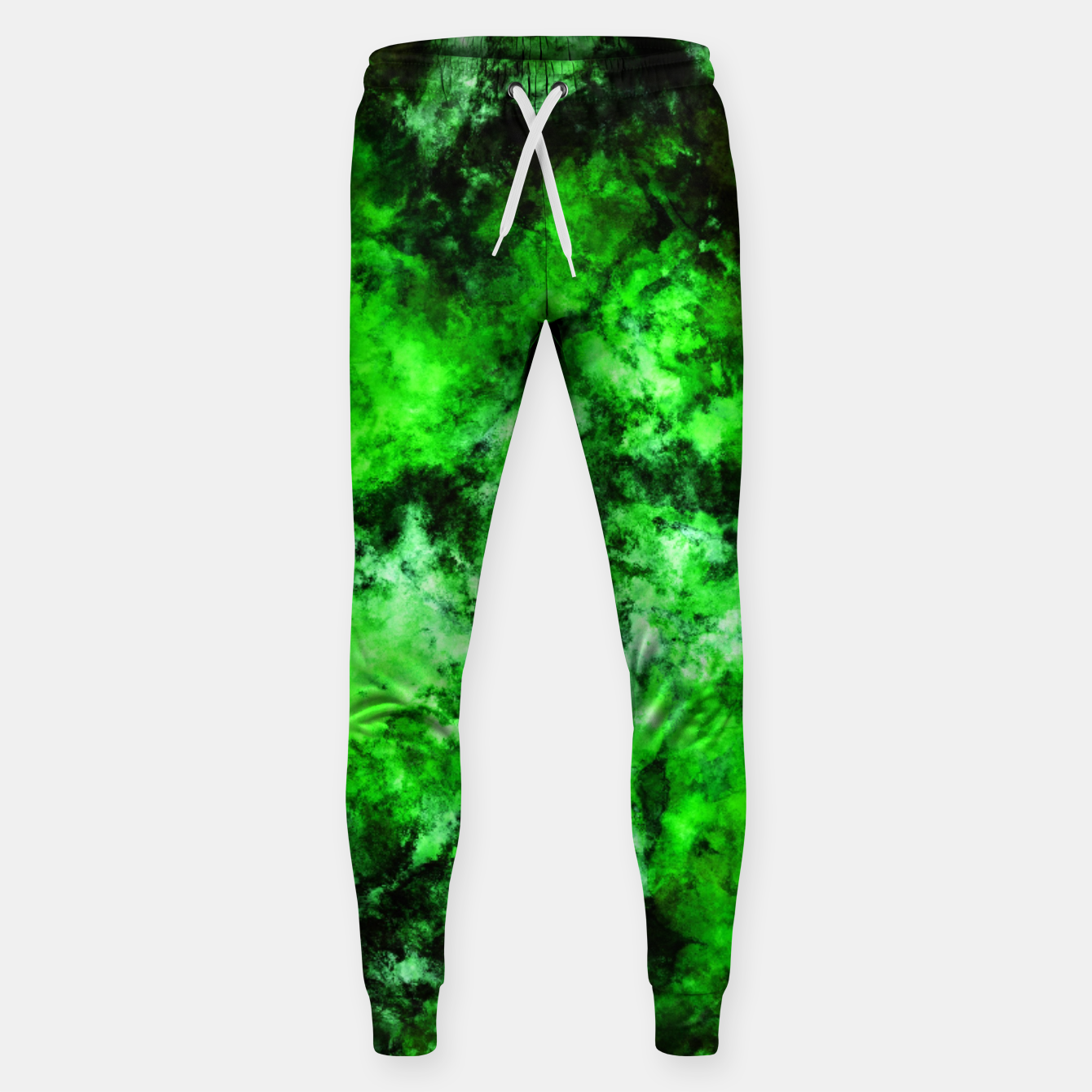 Image of Green burst Sweatpants - Live Heroes