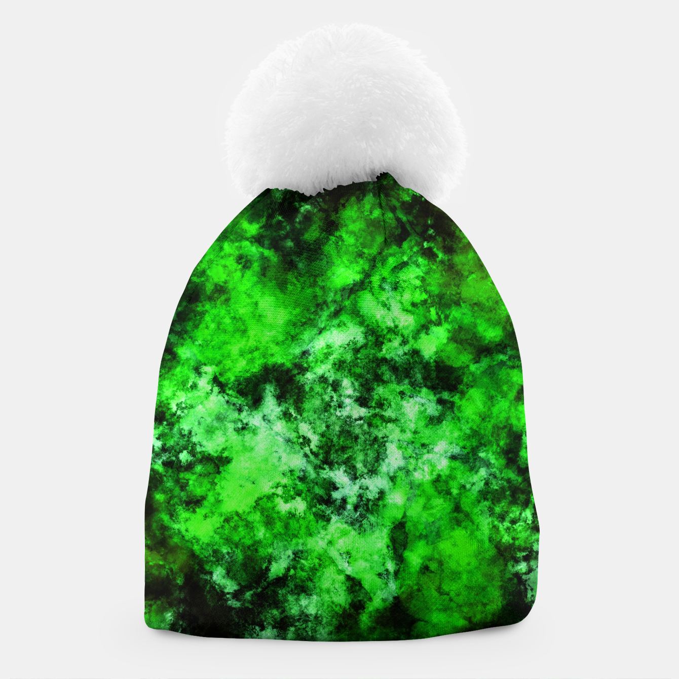 Image of Green burst Beanie - Live Heroes