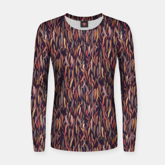 Thumbnail image of Mysterious Eucalyptus Forest Women sweater, Live Heroes