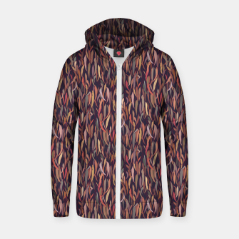 Thumbnail image of Mysterious Eucalyptus Forest Zip up hoodie, Live Heroes