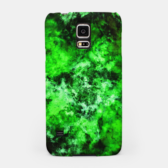 Thumbnail image of Green burst Samsung Case, Live Heroes