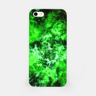 Green burst iPhone Case thumbnail image