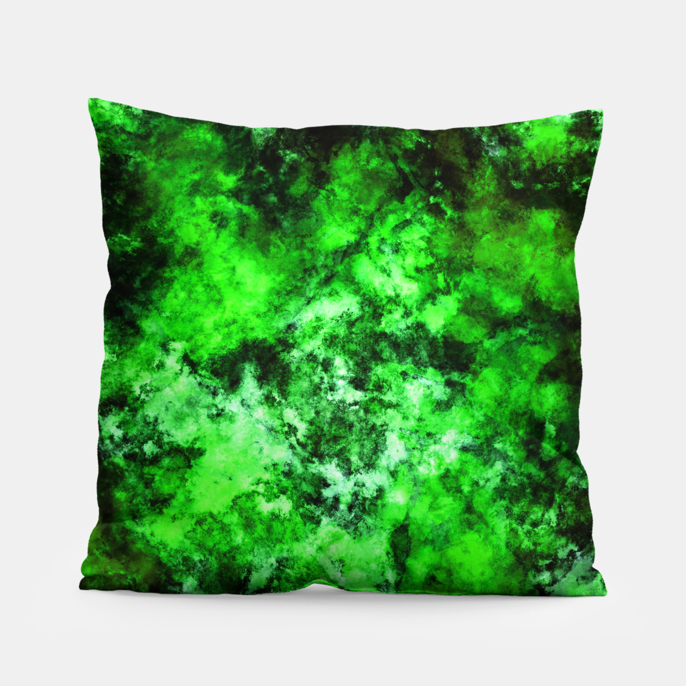 Image of Green burst Pillow - Live Heroes