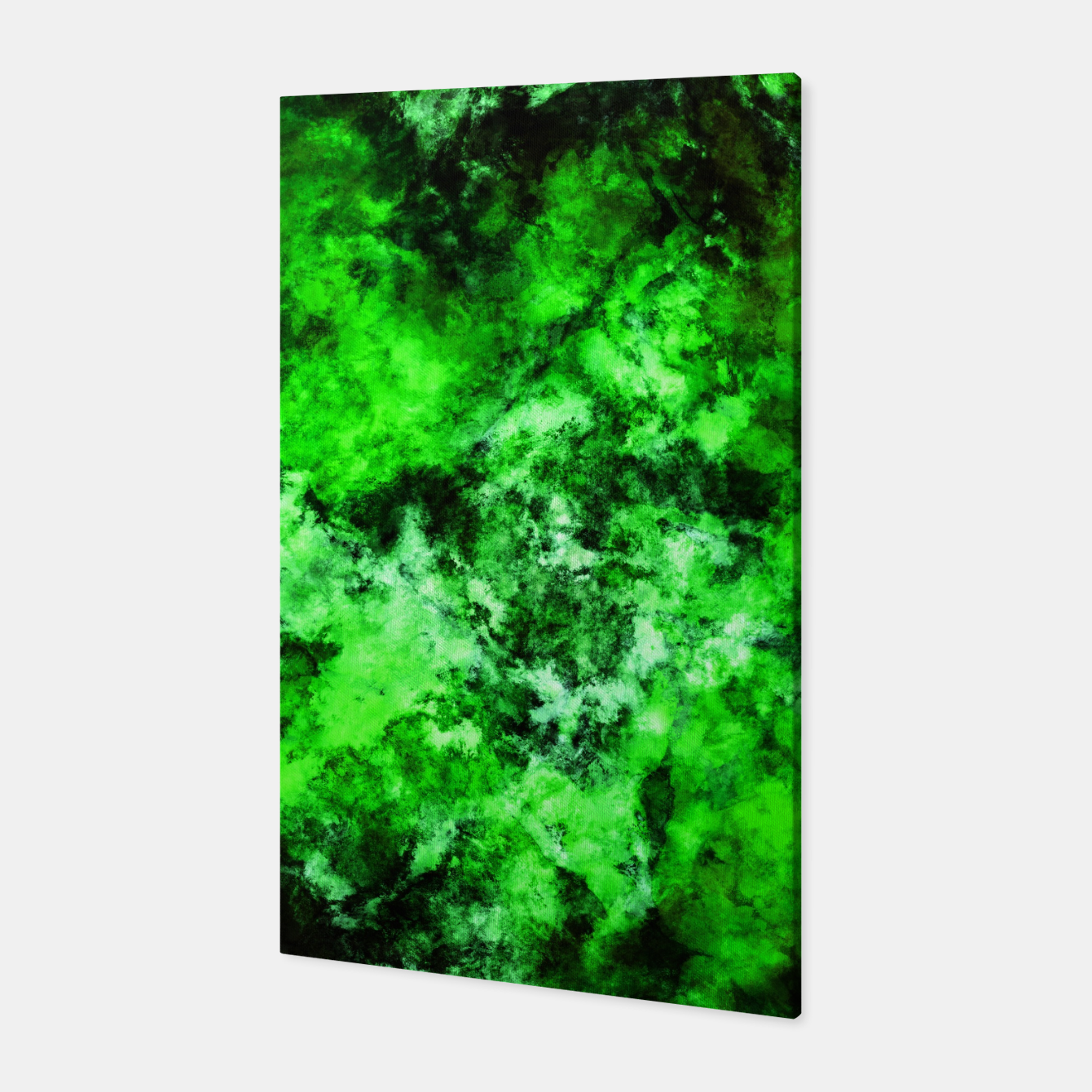 Image of Green burst Canvas - Live Heroes