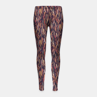 Thumbnail image of Mysterious Eucalyptus Forest Girl's leggings, Live Heroes