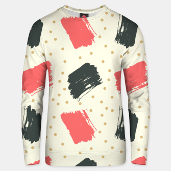 Miniatur Abstract Art Unisex sweater, Live Heroes