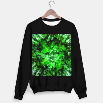 Thumbnail image of Green burst Sweater regular, Live Heroes