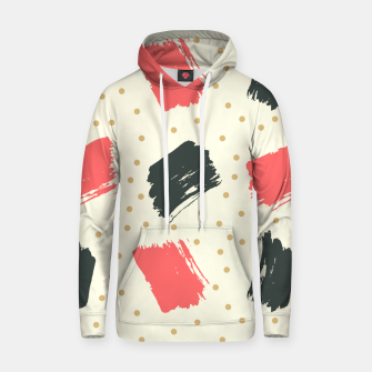 Miniatur Abstract Art Hoodie, Live Heroes