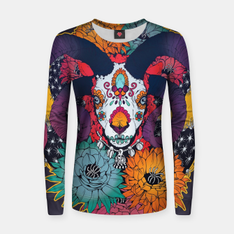Thumbnail image of Flower Goat Women sweater, Live Heroes