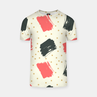 Miniatur Abstract Art T-shirt, Live Heroes