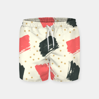 Miniatur Abstract Art Swim Shorts, Live Heroes