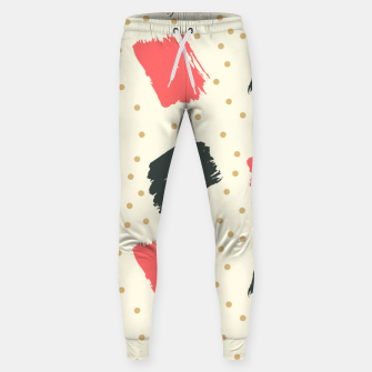 Miniatur Abstract Art Sweatpants, Live Heroes