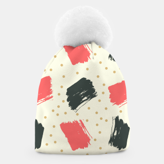 Miniatur Abstract Art Beanie, Live Heroes