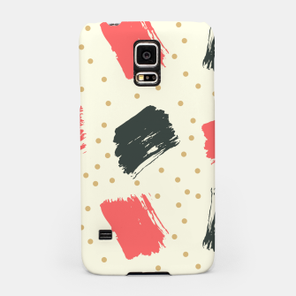 Miniatur Abstract Art Samsung Case, Live Heroes