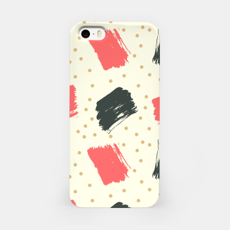 Miniatur Abstract Art iPhone Case, Live Heroes