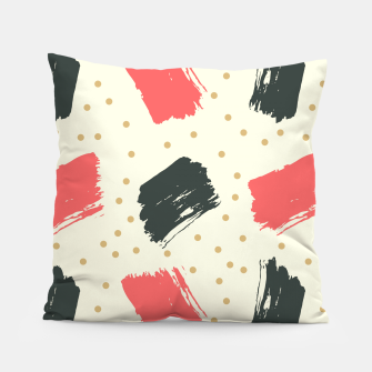 Thumbnail image of Abstract Art Pillow, Live Heroes
