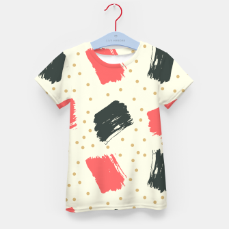 Thumbnail image of Abstract Art Kid's t-shirt, Live Heroes