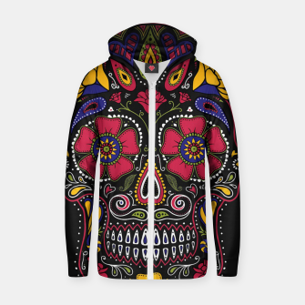 Thumbnail image of Day of the Dead Zip up hoodie, Live Heroes