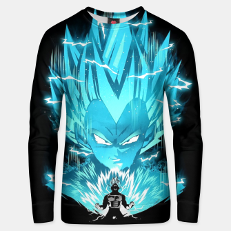 Thumbnail image of Super Saiyan Unisex sweater, Live Heroes