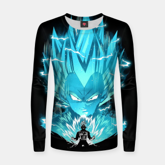 Miniature de image de Super Saiyan Women sweater, Live Heroes