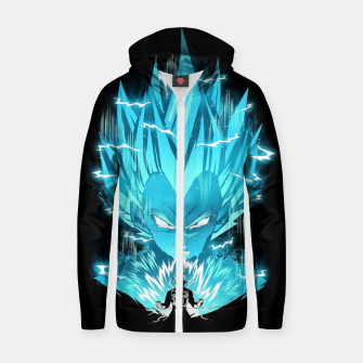Super Saiyan Zip up hoodie thumbnail image