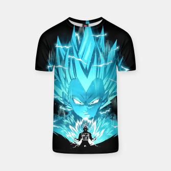 Thumbnail image of Super Saiyan T-shirt, Live Heroes