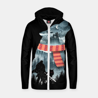 Miniature de image de Winter has come Zip up hoodie, Live Heroes