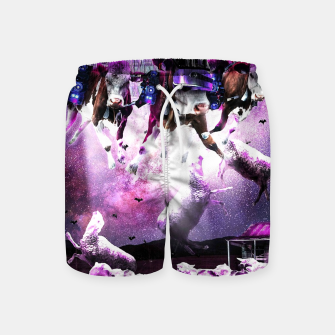 Miniature de image de Cows Abduction Sheeps Swim Shorts, Live Heroes