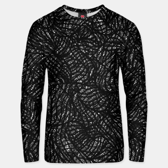 Thumbnail image of zwart wit Unisex sweater, Live Heroes