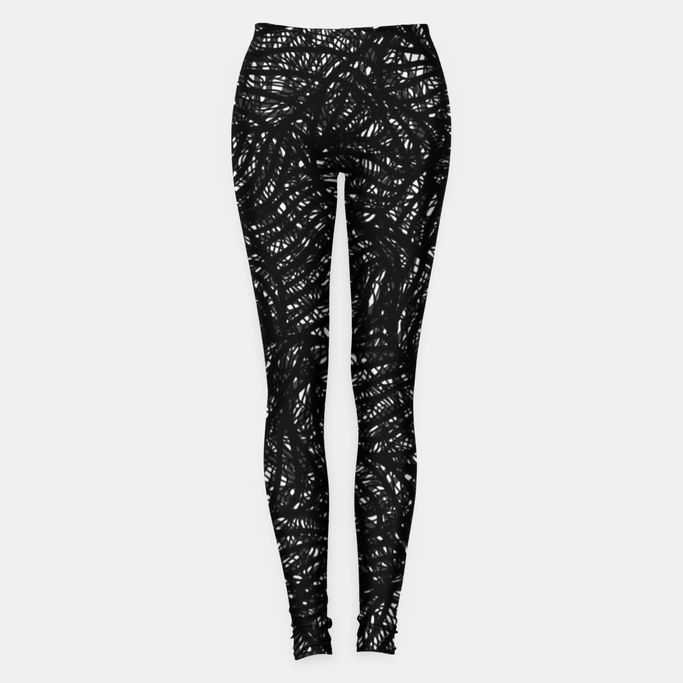 Image of zwart wit Leggings - Live Heroes