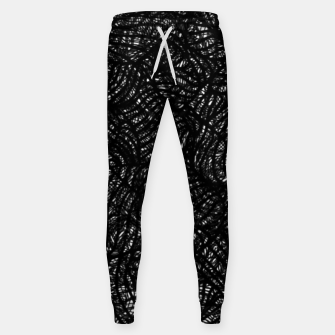 zwart wit Sweatpants thumbnail image