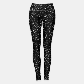 zwart wit Leggings thumbnail image