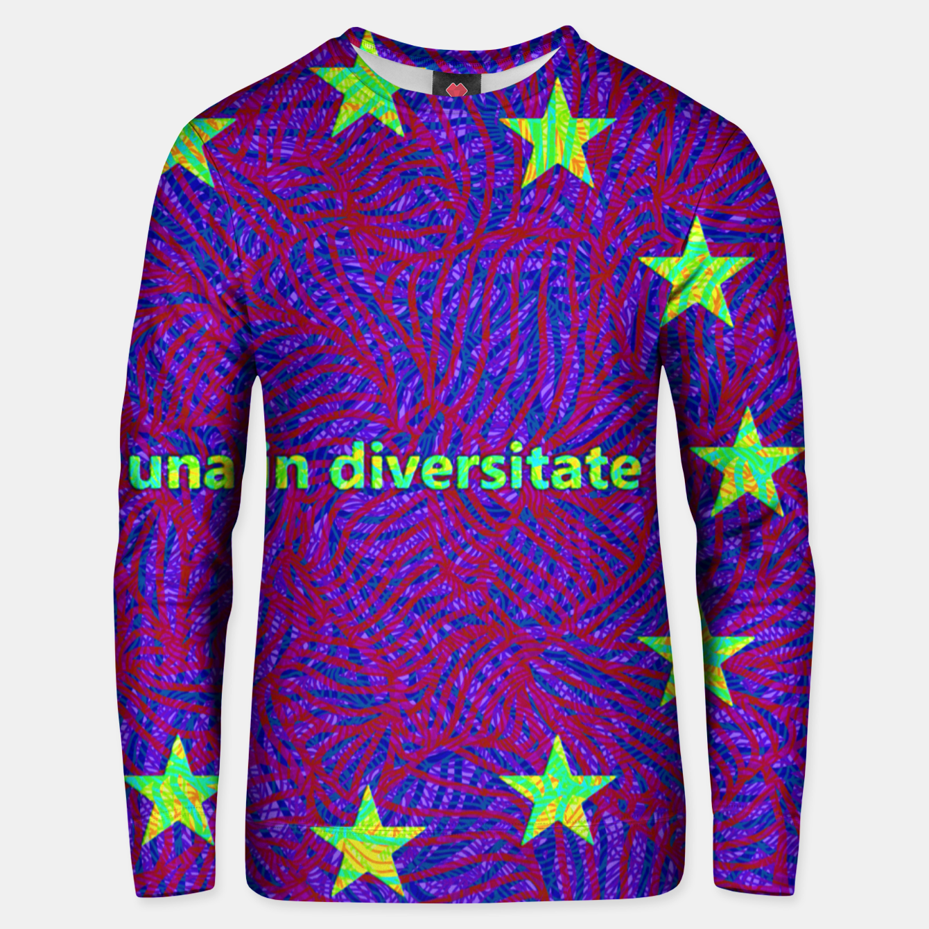 Image of una in diversitate Unisex sweater - Live Heroes
