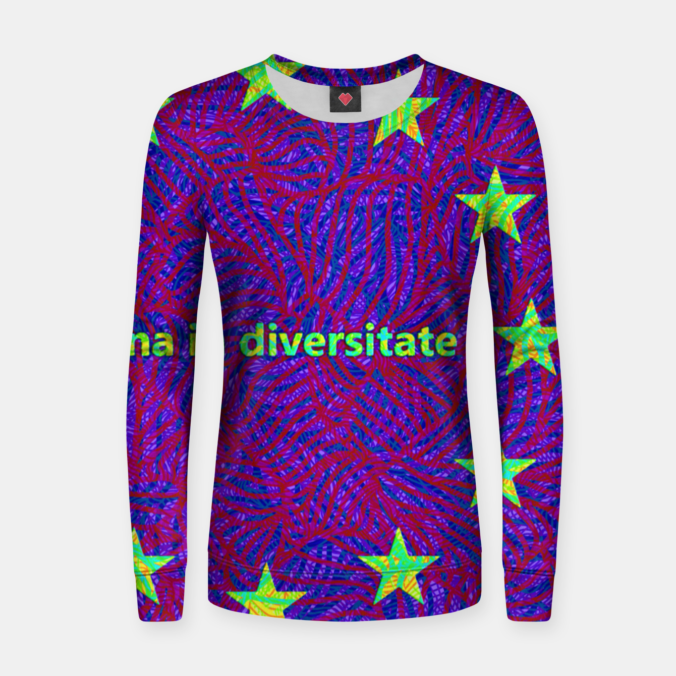 Image of una in diversitate Women sweater - Live Heroes