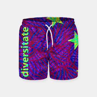 Thumbnail image of una in diversitate Swim Shorts, Live Heroes