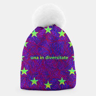 Thumbnail image of una in diversitate Beanie, Live Heroes