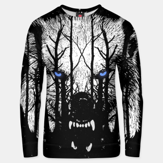 Winter Wolf Unisex sweater miniature