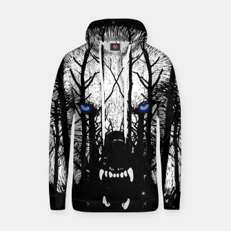 Thumbnail image of Winter Wolf Hoodie, Live Heroes