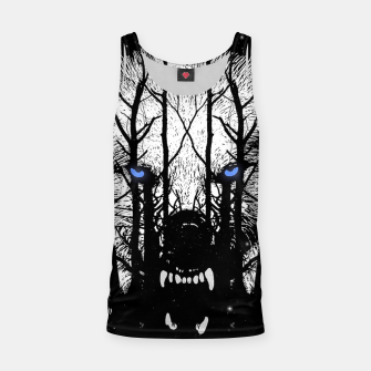 Winter Wolf Tank Top miniature