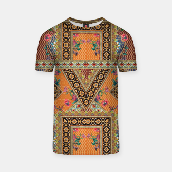 Miniatur Luxury Abstract Design T-Shirt, Live Heroes
