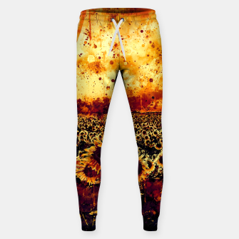 Thumbnail image of abstract sunflowers wsls Sweatpants, Live Heroes