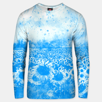 abstract sunflowers wswb Unisex sweater thumbnail image
