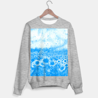 abstract sunflowers wswb Sweater regular thumbnail image