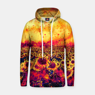 abstract sunflowers wslsh Hoodie thumbnail image