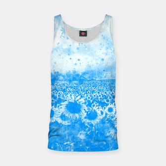 abstract sunflowers wswb Tank Top thumbnail image